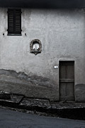 Borgo A Mozzano Framed Prints - Tuscan Door Framed Print by Steven Gray
