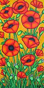 Lisa Lorenz Prints - Tuscan Poppies Print by Lisa  Lorenz