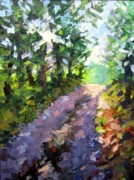 Lanscape Paintings - Tuscan Road by Don  Reed