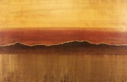 Tuscan Sunset Paintings - Tuscan Sun by Justin  Strom