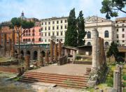 Italian Art Photo Prints - Tuscany- Roman Forum Print by ITALIAN ART- Angelica