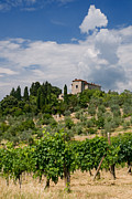 Tuscany Villa In Tuscany Italy Print by Ulrich Schade