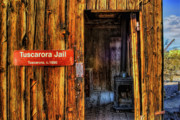 Old Stove Posters - Tuscarora Jail Poster by Stephen Campbell
