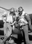 Pilot Metal Prints - Tuskegee Airmen Metal Print by War Is Hell Store