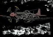 Tuskegee Night Flight Print by Jim Ross