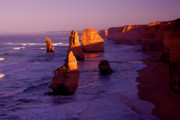 Cliffs Photos - Twelve Apostle Dawn by Mike  Dawson