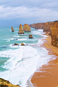12 Apostles Framed Prints - Twelve Apostles Framed Print by Fir Mamat
