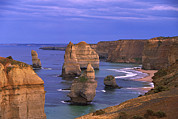 Seastack Photos - Twelve Apostles Limestone Cliffs, Port by Konrad Wothe