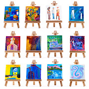 Simon Bratt Photography LRPS - Twelve mini paintings