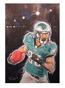 Football Paintings - Twenty Five by Keith Hancock