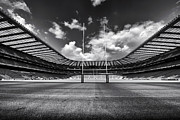 Rugby Union Photo Posters - Twickenham Stadium London Poster by Harry Page