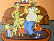 Hannah Chusid - Twiggy and the Simpsons
