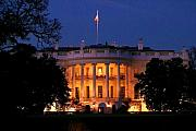 White House Photos - Twilight by Mitch Cat