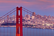 Architecture Photo Originals - Twilight over San Francisco by Brian Jannsen