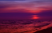 Panama City Beach Fl Prints - Twilight Print by Sandy Keeton