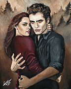 Vampire Paintings - Twilight by Tom Carlton