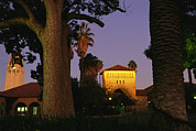 Stanford Acrylic Prints - Twilight View Of Buildings Acrylic Print by Melissa Farlow
