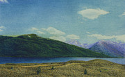 Plain Pastels Prints - Twin Lakes Print by Norm Holmberg