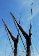 Sailing Ships Originals - Twin Mast by Terence Davis