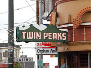 Eureka Valley Posters - Twin Peaks Gay Bar in San Francisco . 7D7603 Poster by Wingsdomain Art and Photography