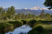 Longs Peak Photos - Twin Peaks View by James Bo Insogna