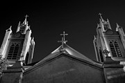 Religious Prints Photos - Twin Spires by Steven Ainsworth