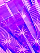 Grape Digital Art Metal Prints - Twinkle Metal Print by Molly McPherson
