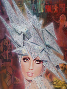 Stefani Germanotta Painting Originals - Twinkle Twinkle Little Star by Stapler-Kozek