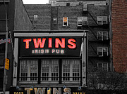 I Drink Posters - Twins Poster by Dennis Dugan