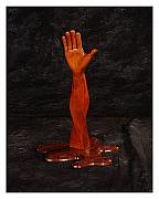 Strange Sculpture Originals - Twisted Hand for You by Steve Weber