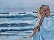 Braid Paintings - Twixt Wind and Water II by Jenny Armitage