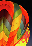 Hot Air Balloons Digital Art - Two aglow by Sharon Foster