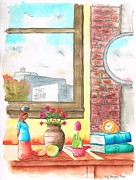 Bricks Originals - Two-books-near-the-window by Carlos G Groppa
