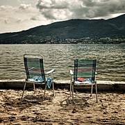 Beach Towel Prints - Two Chairs Print by Joana Kruse