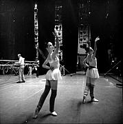 Jesse  Gerstein - Two Dancers Backstage...