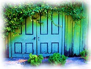 Two Doors Print by Judi Bagwell