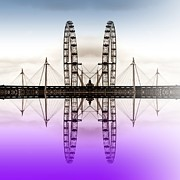 London Eye Prints - Two eyes are better than one Print by Sharon Lisa Clarke