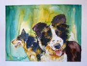 Working Dogs Originals - Two Good Cowdogs by P Maure Bausch