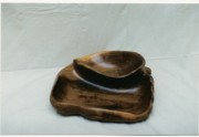 Practical Art Sculpture Prints - Two in one bowl Print by Lionel Larkin