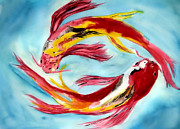 Alethea McKee - Two Koi for Words