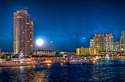 Samdobrow  Photography - Two Moons over Miami...