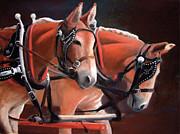 Judy Maurer - Two Mules
