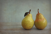 Two Pears Print by Iris Lehnhardt