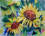 Suzanne Canner - Two Sunflowers
