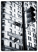Traffic Light Prints - Two Times Wall St. Print by John Rizzuto