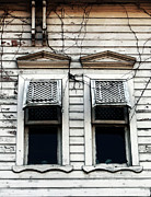 Sultanhmet Prints - Two Windows Print by John Rizzuto