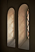 Old Windows Framed Prints - Two Windows Framed Print by Odd Jeppesen