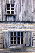 Log Cabin Photos - Two Windows by Paul W Faust -  Impressions of Light