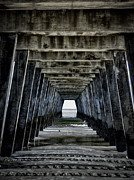 Tybee Island Pier Photos - Tybee Island Pier by Paul Bartell