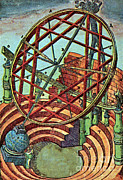 Armillary Posters - Tycho Brahes Equatorial Armillary Poster by Science Source